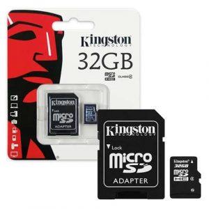 Kingston Memory Card Micro SD SDHC Class 10