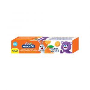 KODOMO ยาสีฟันสำหรับเด็ก กลิ่นส้ม