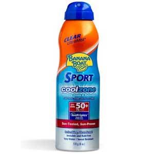สเปรย์กันแดด Banana Boat Sport Coolzone Sunscreen Spray